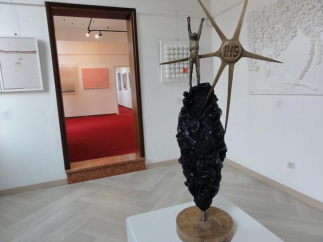 """""""Bozzolo"""" (Kokon), 1998, von Salvatore Vassallo. Biennale im Palazzo Albrizzi"""