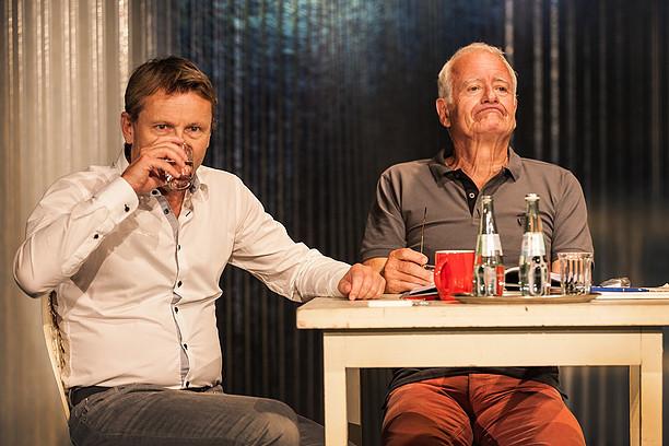Rene Heringsdorf und Peter Bongartz in Der Mentor