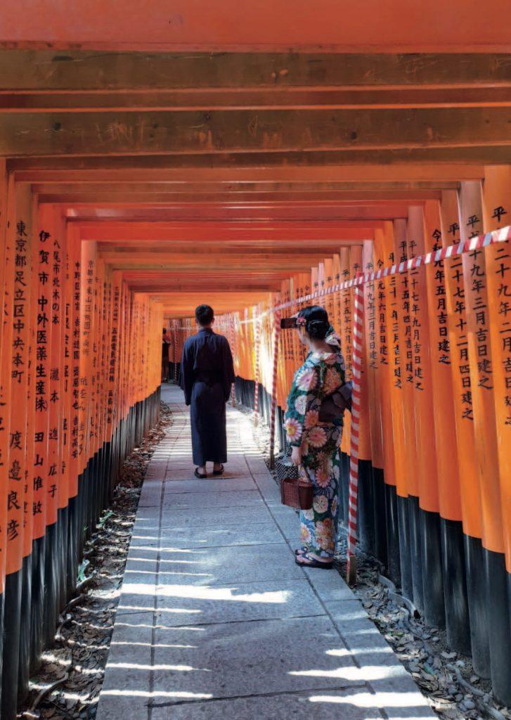 Japan - Tore des Fushimi-Inari-Schreins