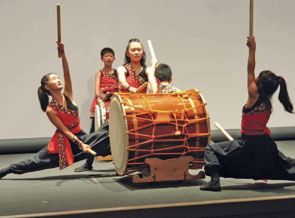 Japan - Taiko-Trommler in Nagoya